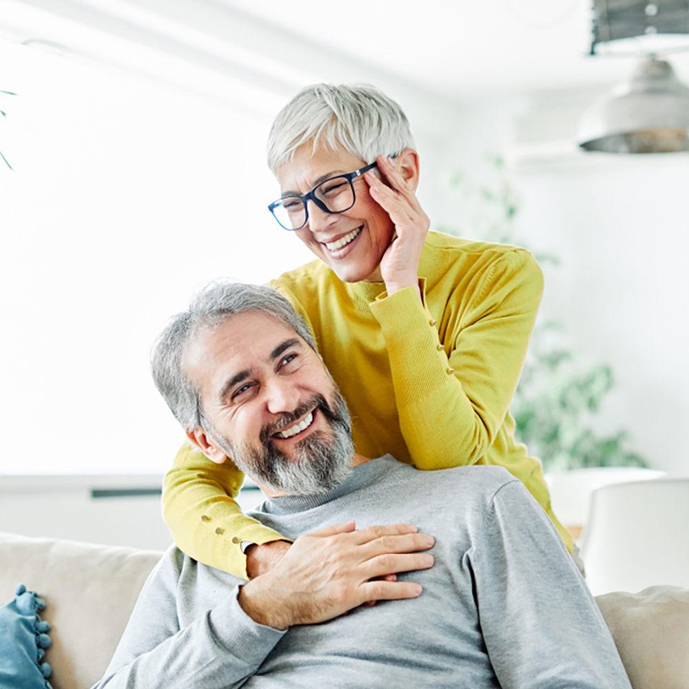 family happy about their life insurance policy